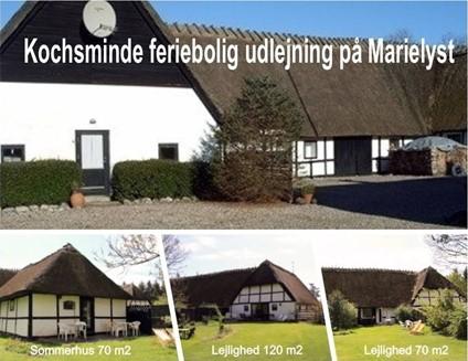 Ferielejlighed på 70 m2 til 6-8 personer med stor have  - udlejes på Bøtø | Marielyst Strand