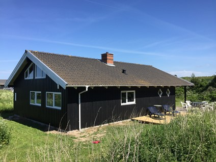 Dejligt spa-sommerhus  Nørlev Strand/Skallerup Klit - 400 meter til stranden