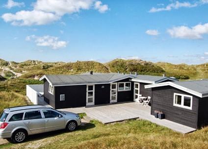 Fanø - Jylland-- direkte ved -vesterhav-  golfbane