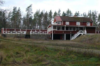Huset set fra gårdsiden