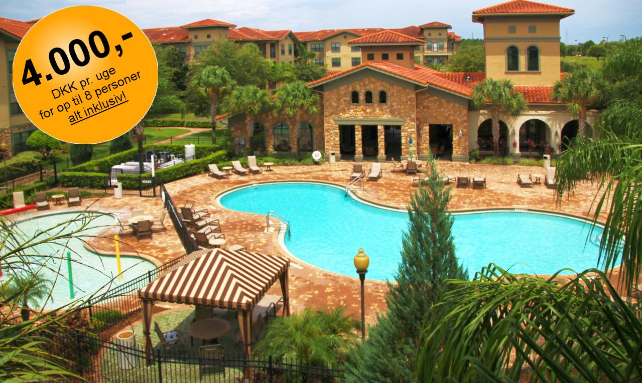 Lejlighed i Orlando, Florida på 115 m2 udlejes