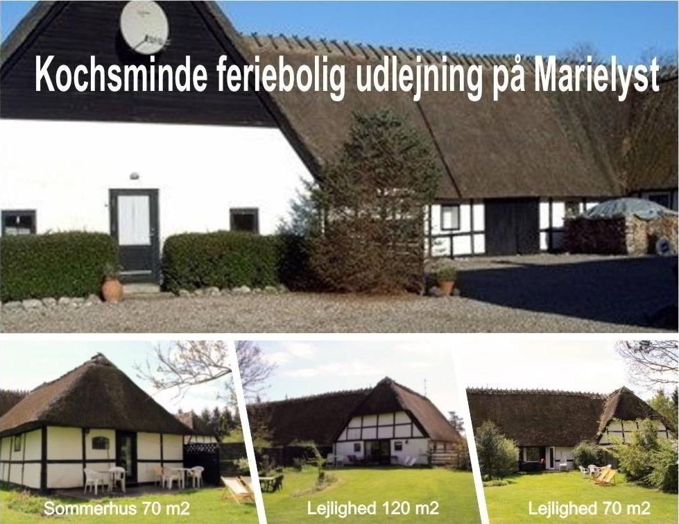 Sommerhus på 70 m2 til 6-8 personer med stor have  - udlejes på Bøtø | Marielyst Strand