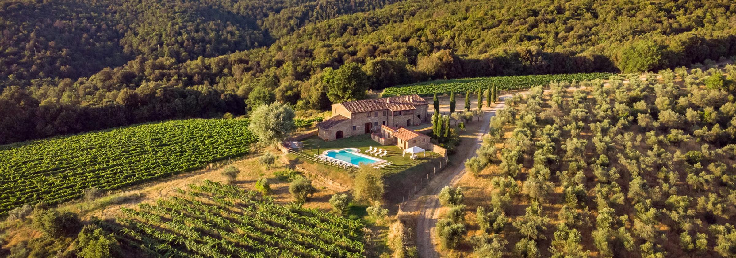 TOSCANA - udvalg af ferielejligheder og huse overalt i Toscana